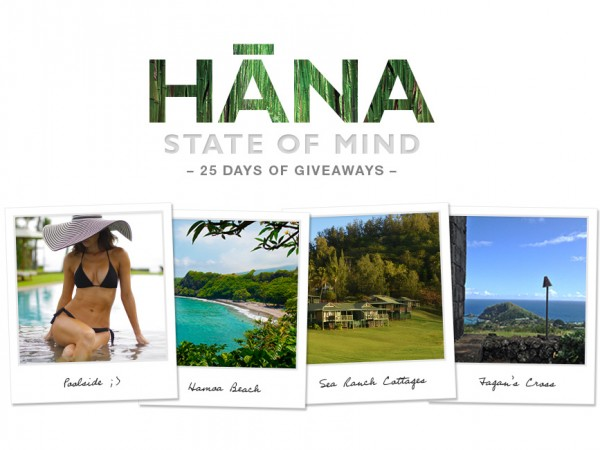 Hana State of Mind: 25 Days of Giveaways