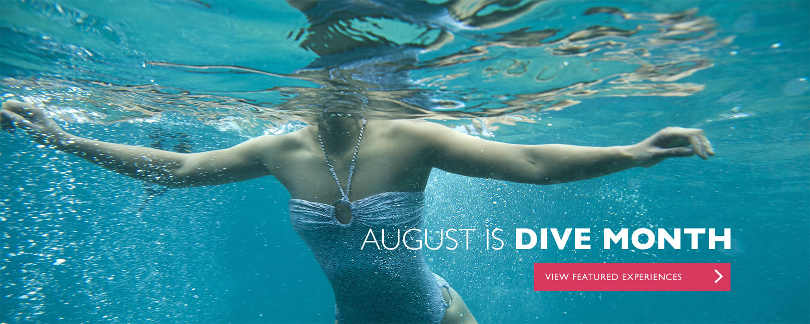 August is Dive Month at Travaasa