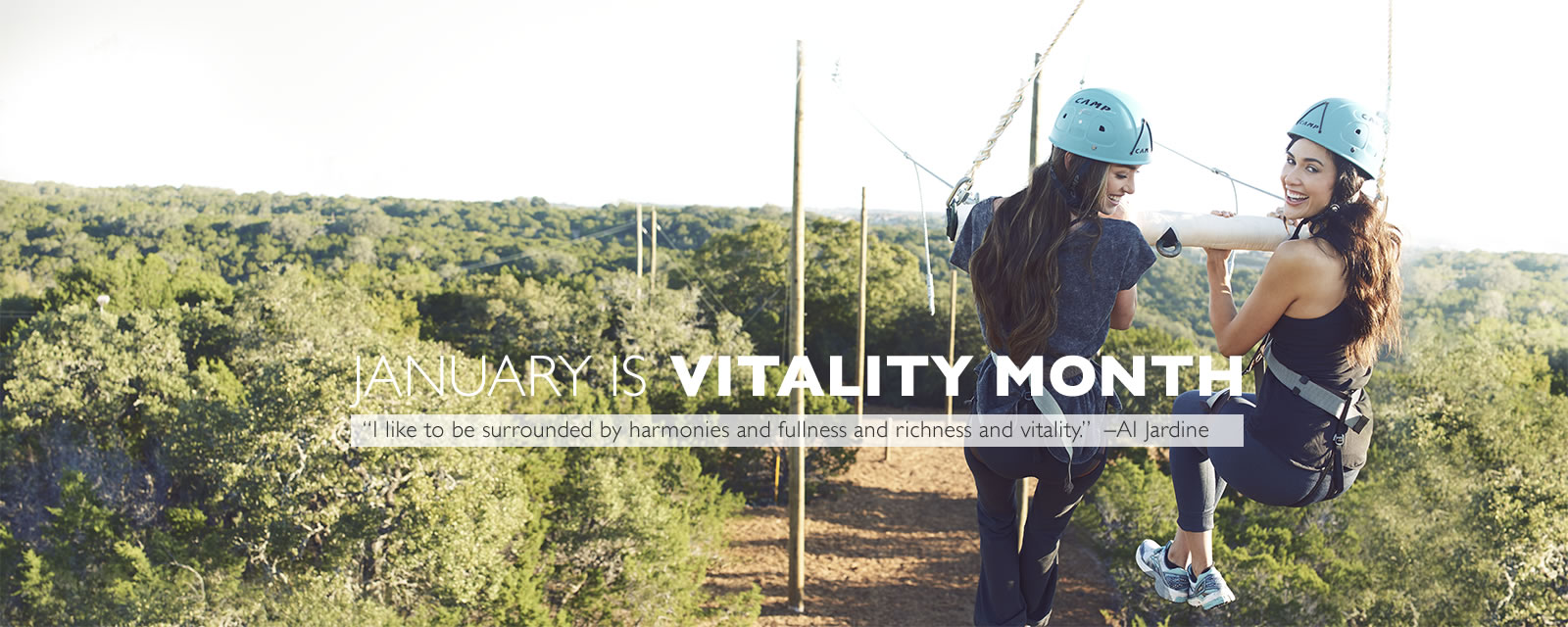 January is vitality month at Travaasa