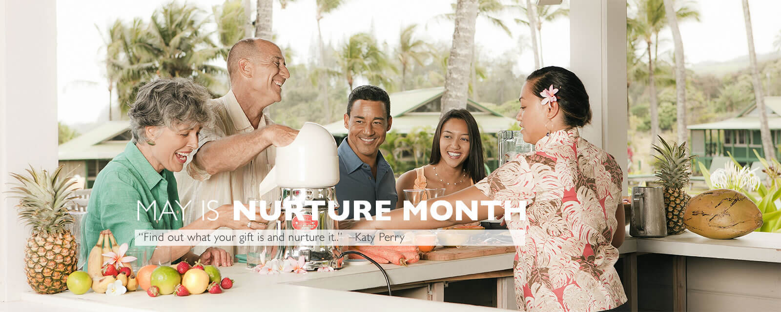 May is Nurture month at Travaasa